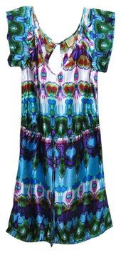Anthropologie short dress Multi color Postella Day Butterfly on Tradesy
