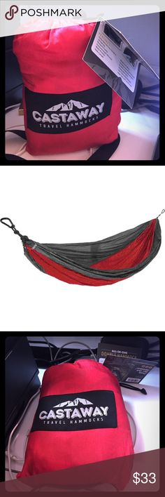 Castaway Double Hammock New with tags, double hammock holds up to 400lbs. Castaway Brand- good quality. Other