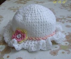 Horgolt sapi / crocheted hat