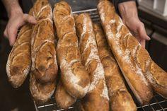 South Melbourne's tiny Parisian patisserie (Agathé Patisserie) is now baking baguettes Melbourne Markets, French Cake, Danishes, Baguette, Parisian, Breads, Bakery, Eat, Food