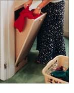 A laundry chute is the next best thing to a bottomless hamper. Laundry Chute, Laundry Closet, Laundry Room, Family Closet, Old Houses, My Dream Home, Building A House, Purpose, House Ideas