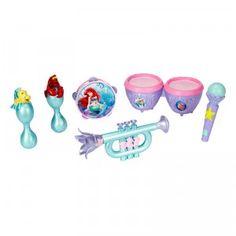 Disney Princess The Little Mermaid Musical Instrument Set