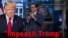 """""""You're A Bad President, Please Resign!"""" Stephen Colbert To Donald Trump"""