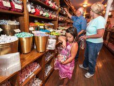 sweet palace Phillipsburg Montana | ... filling a bag of candy at The Sweet Palace in Philipsburg, Montana