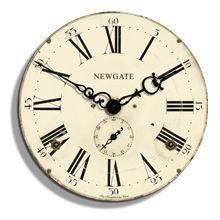 Newgate Clocks Knightsbridge Wall Clock - Newgate Clocks from Mollie & Fred UK Mantel Clocks, Wall Clocks, Clock Decor, Clock Craft, Big Clocks, Wall Watch, Kitchen Clocks, Art Vintage, Vintage Clocks
