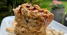 Join the baked oats craze with this incredibly simple, nutritious breakfast recipe Super Healthy Banana Bread, Make Banana Bread, Chocolate Banana Bread, Healthy Chocolate, Banana Bread Recipes, Banana Oats, Chocolate Orange, Nutritious Breakfast, Breakfast Recipes