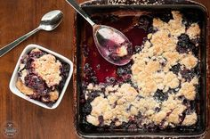 Easy Quadruple Berry Cobbler - Self Proclaimed Foodie