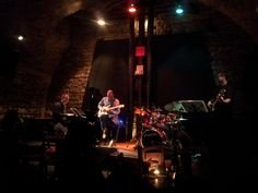 My favourite hole-in-the-wall jazz club in Prague is Agharta - I always stop by whenever I'm in Prague.