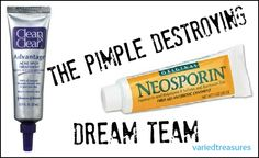 varied treasures: Pimple Destroying Dream Team