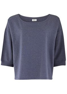 Blue Short Sleeve Jumper from People Tree