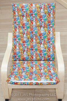 TUTORIAL: Kids Ikea Poang Slipcover   Haath Se [By Hand]