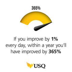 Little steps = big wins! - USQ #motivational #wisdom #inspiration