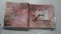 Výzva č. 2 na ArtGrupe  má tému: Passion a je od Majky . Tak som si sadla k tvoreniu a vznikla táto pre mňa krásna farebná dvoj-stránka.  ...