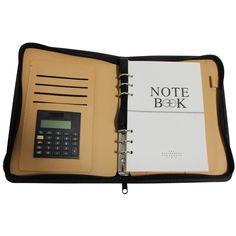 Kurtzy TM Agenda Organiser Notebook in Finta Pelle con Calcolatrice: Amazon.it…