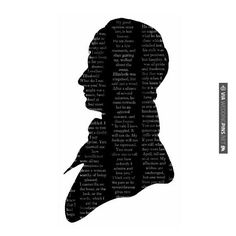 So good! - Mr. Darcy Silhouette | CHECK OUT MORE GREAT BLACK AND WHITE WEDDING IDEAS AT WEDDINGPINS.NET | #weddings #wedding #blackandwhitewedding #blackandwhiteweddingphotos #events #forweddings #iloveweddings #blackandwhite #romance #vintage #blackwedding #planners #whitewedding #ceremonyphotos #weddingphotos #weddingpictures