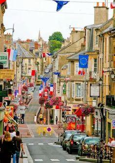 Street #Bayeux #france #Francia