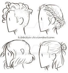 Short-Hair Reference Sheet by Kibbitzer