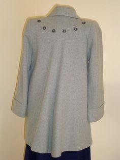 b3c2c5339a8 Gorgeous 1940 s swing coat M