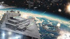 Rogue One Fleet Battle