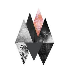 Collage art geometric triangles 32 ideas for 2019 Collage Design, Collage Art, Design Art, Web Design, Art And Illustration, Geometric Designs, Geometric Shapes, Triangle Art, Hipster Art