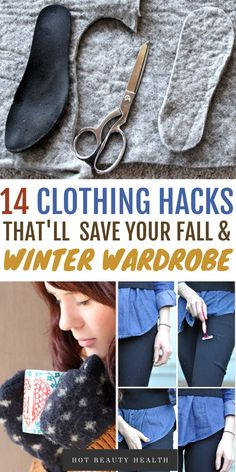 These cold weather clothing hacks will help you stay warm during the fall and winter months. You'll be so glad to come across these awesome life tips! Now you'll have some great ideas for fall and winter clothing! #coldweatherclothing #coldweatherideas #winterclothing #hyggeideas Keep Warm, Stay Warm, Cold Weather Outfits, Winter Outfits, How To Make Scarf, Old Sweater, Clothing Hacks, Winter Wardrobe, Fashion Advice