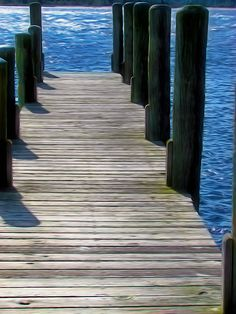 Dock On Waterfront