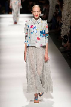 Missoni Spring 2015. See all the best looks from Milan Fashion Week here.