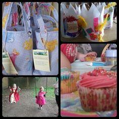 Megan's 4th birthday party and the creation of Princess Megan Moo #princess #parties