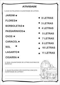 Atividades Consciência Fonológica Leilão de Jardim Cecília Meireles …