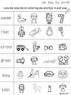 Afrikaans OEI, EEU, OOI, AAI Kort program Gr 2-3 by SpraakBorrel | Teachers Pay Teachers Career Quotes, Success Quotes, Activities For 5 Year Olds, Afrikaans Language, Self Improvement Quotes, Wisdom Quotes, Quotes Quotes, Life Quotes, Dream Quotes