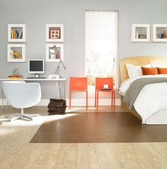 bedroom cork parquet flooring How to Clean Cork Flooring