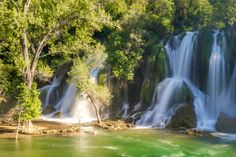 Kravice Waterfalls (08) by Vlado Ferencic on 500px Amazing Nature, Croatia, Waterfalls, Bosnia, Montenegro, Places To Travel, Trips, Travel Destinations, Waterfall