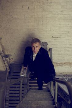 Christoph Waltz, photographed by Brian Bowen Smith for M magazine, 2014.