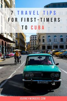 Are you planning to travel to Cuba but keep on getting confused by all the misinformation out there? Here's 7 Cuba Travel Tips to help you out including Trinidad, Havana, Viñales, Classic Cuban Cars, Cuban Cigars, Cuba Tips, Cuba Destinations and more.