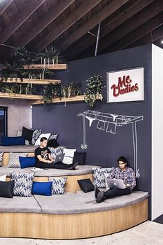 MeUndies - 12 Startups With Incredible Office Design - Photos