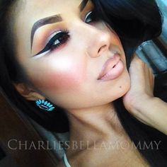 Beautiful twist on chola look | Charlies Bella Mommy