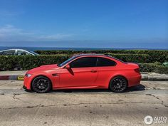 Frozen Red BMW E92 M3