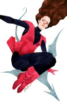 Kevin Wada Kitty Pryde ROUND 2 BITCHES. series 2, costume 1