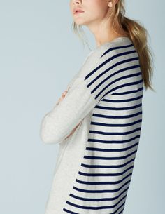 Everyday Knitted Tunic Dress WW007 Dresses at Boden
