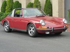 1970 Porsche 911S Metallic red