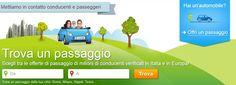 Car Sharing, i migliori siti per trovare un passaggio