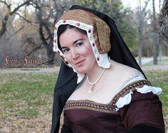 MADE TO ORDER Boleyn Girl English Gable Hood by FyneFaire on Etsy