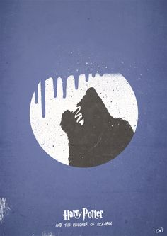 Prisoner of Azkaban - Harry Potter Minimal Movie Poster Set by Craig Anthony, via Behance