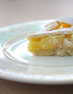 Sitruunaneliöt / Lemon squares