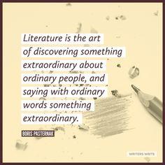 Quotable – Boris Pasternak - Writers Write