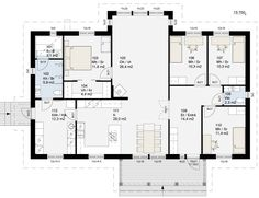 House Plans, Sweet Home, New Homes, Floor Plans, Exterior, Flooring, How To Plan, Deco, Architecture
