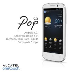 Todas las herramientas que necesitas en un Smartphone las puedes encontrar en el POP C5.