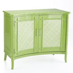 British Colonial Cabinet – Green  Console Tables & Buffets