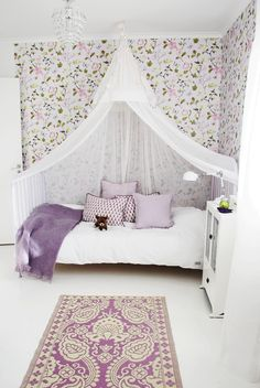 Lovely bed for at little girl