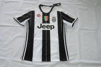 Juventus 2016-17 Season Home Jersey with All Patches